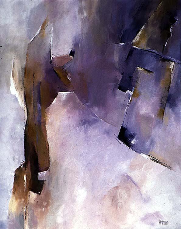 Diablesse (huile sur toile-65x54)