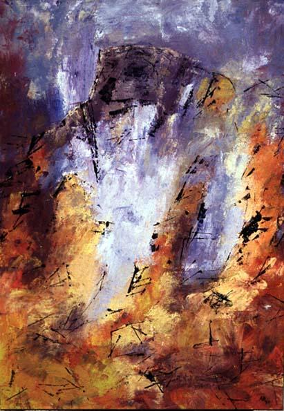 Néouvielle (acrylique sur toile-92x60)