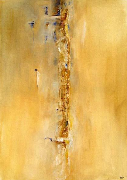 01-11-15 (huile et poudre de marbre sur toile-92x73)
